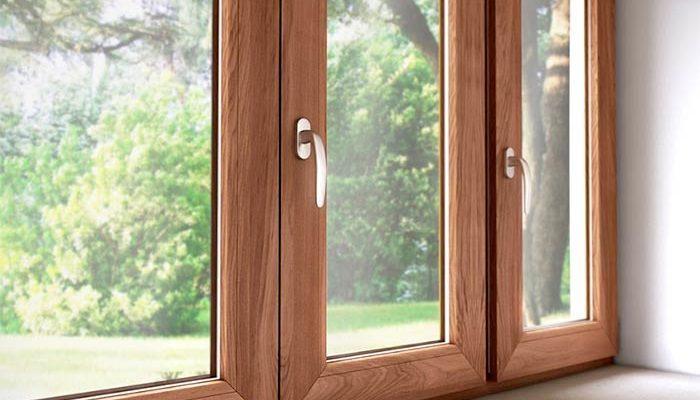 красивые деревянные окна из сосны