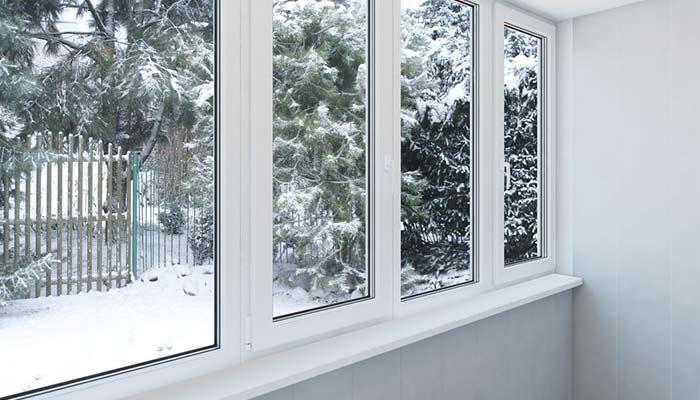 Окна в зимний период