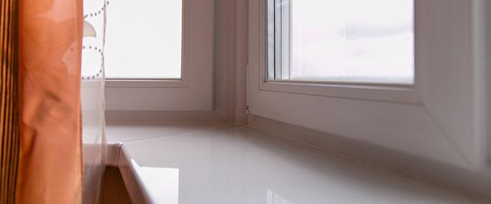 Белые окна из ПВХ