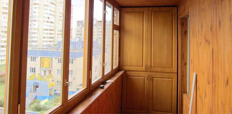 Пример остекления балкона