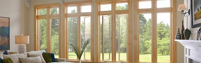 Экологичные окна в интерьере
